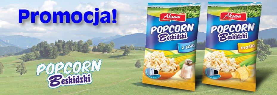Promocja - Popcorn Beskidzki