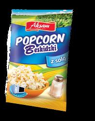 Aksam Popcorn Beskidzki solony